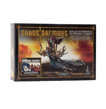 Games Workshop Warhammer Chaos Daemons Herald Of Tzeentch On Burning Chariot 97-20